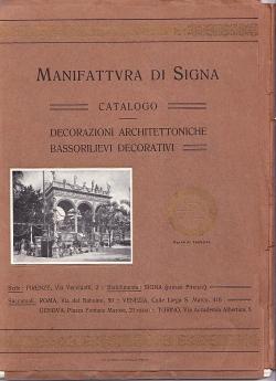 MANIFATTURA DI SIGNA - CATALOGO -