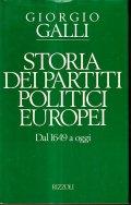 STORIA DEI PARTITI POLITICI EUROPEI