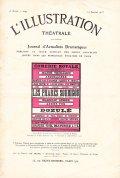L'ILLUSTRATION THEATRALE 1912